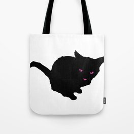 Staring Cat Tote Bag