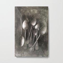 old spoons Metal Print