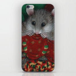 Wilbur the fat dormouse iPhone Skin