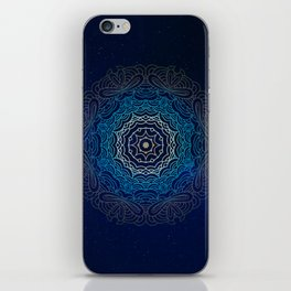 Cosmic Mandala iPhone Skin