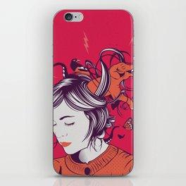 Natalia's world iPhone Skin