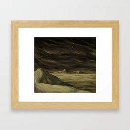 Surface of Venus Framed Art Print
