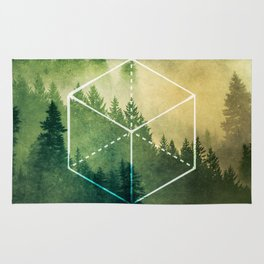 The Elements Geometric Nature Element of Earth Rug