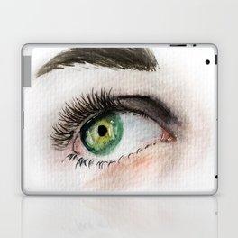 Eye Study in Watercolor 1 Laptop & iPad Skin