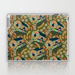 Gypsy Wagon Pattern Laptop & iPad Skin