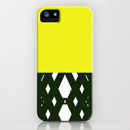 yellllllow iPhone Case