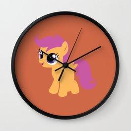 Scootaloo Wall Clock