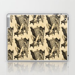 Ex Libris 'The Inveterate Reader' Laptop & iPad Skin
