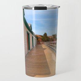 Basin Head Beach Boardwalk Travel Mug