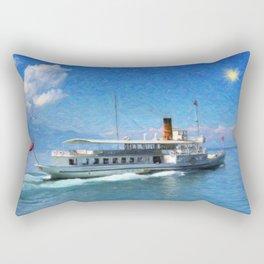 Vintage ship Rectangular Pillow