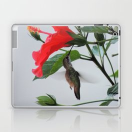 Checking For Leaks Laptop & iPad Skin