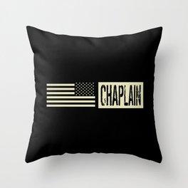 U.S. Military: Chaplain Throw Pillow