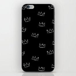Crowns iPhone Skin
