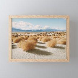 Paiute Land Framed Mini Art Print