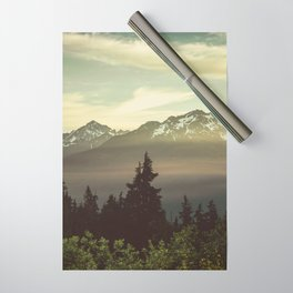 Morning in the Mountains Wrapping Paper