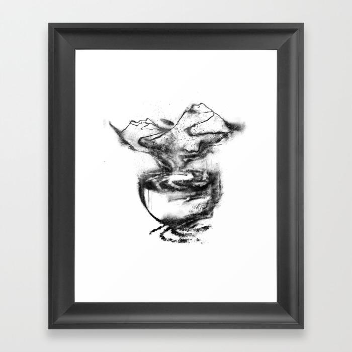 A Cuppa Dreams Framed Art Print by Sleepingdragon FRM8532599