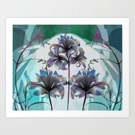 My Digital Garden Art Print