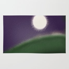 Fatness of the moon Rug