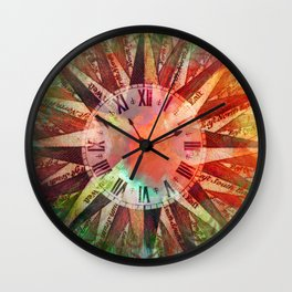 Synchronicity 11:11 Clock Face Time Design Wall Clock