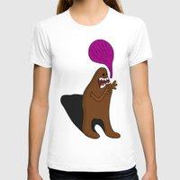 bigfoot T-shirts featuring Sandy Bigfoot by Chelsea Herrick