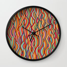 festive river Wall Clock