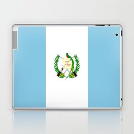Flag of Guatemala- Guatemalan, Mixco,Villa Nueva,Petapa,tropical,central america,spanish,latine Laptop & iPad Skin