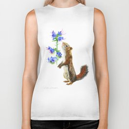 Take Time To Smell The Flowers by Teresa Thompson Biker Tank