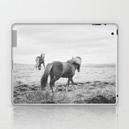 Modern Animal Print, Icelandic Horses Laptop & iPad Skin