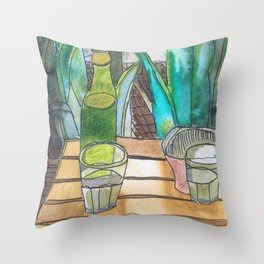Rolador Throw Pillow