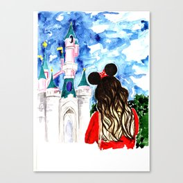 Take me to Disneyland Canvas Print