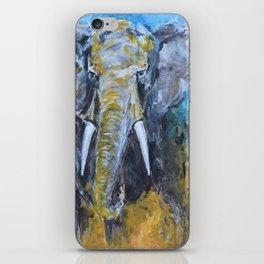 African Elephant Bull iPhone Skin