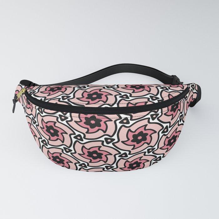 Pretty Pink Pinwheel Fanny Pack