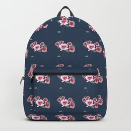Watercolor Floral Bouquet Pattern Backpack