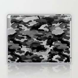 Camouflage (Gray) Laptop & iPad Skin