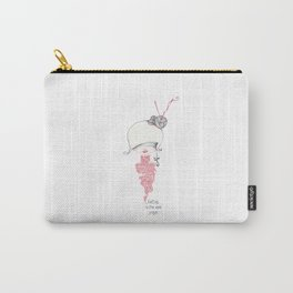 knitting is the new yoga! Carry-All Pouch