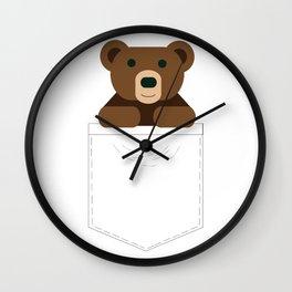 Pocket Bear Partner Wall Clock