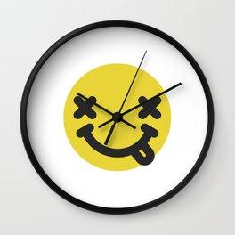 Nirvana emoticon  Wall Clock