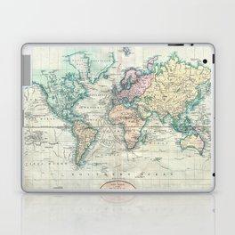 Vintage Map of The World (1801) Laptop & iPad Skin