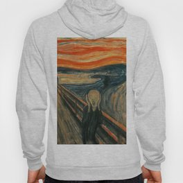 Classic Art - The Scream - Edvard Munch Hoody
