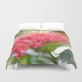 Flower Burst - Electric Magenta Duvet Cover