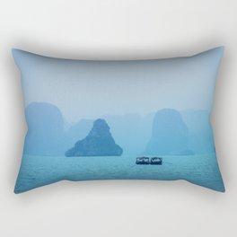 Ha Long Blues Rectangular Pillow