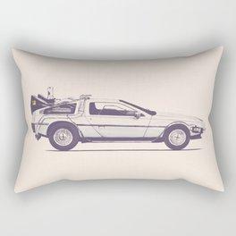 Famous Car #2 - Delorean Rectangular Pillow