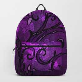 LEAVE - Spring Plum Backpack