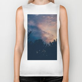 The day is over, new morning begins Biker Tank