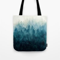 brain Tote Bags featuring The Heart Of My Heart // So Far From Home Edit by Tordis Kayma