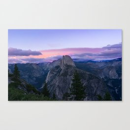 Yosemite National Park at Sunset Canvas Print