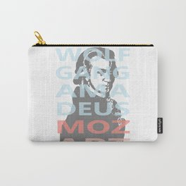 Wolfgang Amadeus Mozart Carry-All Pouch