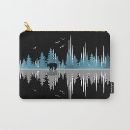 The Sounds Of Nature - Music Sound Wave Carry-All Pouch