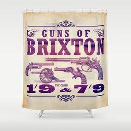 The Clash - Guns of Brixton Shower Curtain