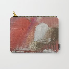 The Little Things: a minimal, abstract piece in reds and gold by Alyssa Hamilton Art Carry-All Pouch